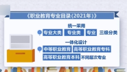《职业教育专业目录(2021年)》发布:今年起职业院校按19个专业大类招生