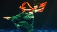 走進水下攝影棚  揭秘洛神舞拍攝過程